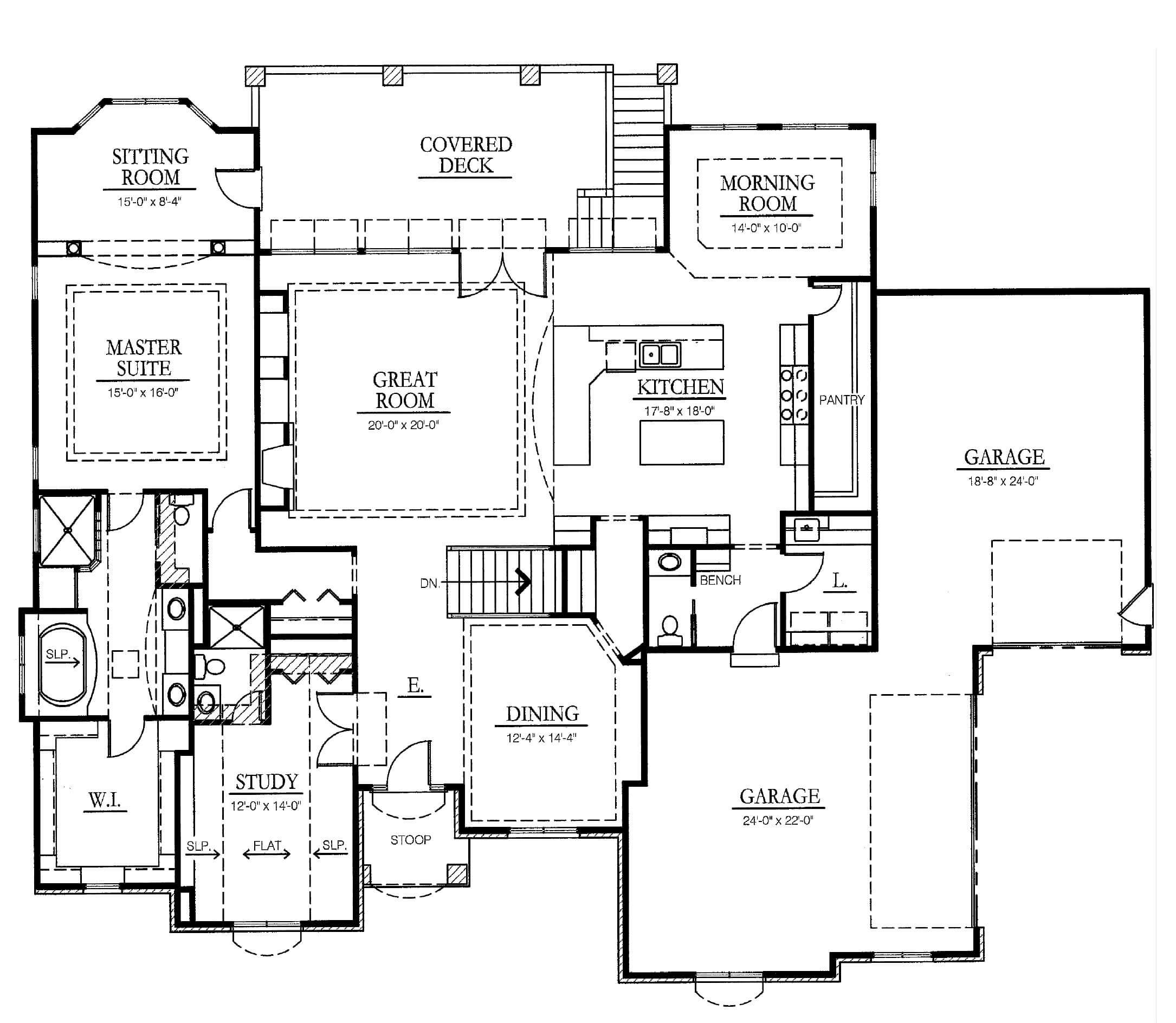 100 Executive Ranch Floor Plans Phillips Creek